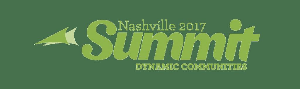 The 2017 Nashville Dynamic Communities Summit Logo