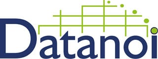 Datanoi logo_lower i and integrated dot with blue circle_ Small Size
