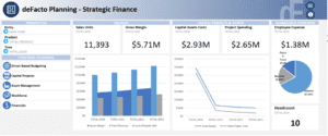 deFacto Global - deFacto Planning Strategic Finance Screen Shot