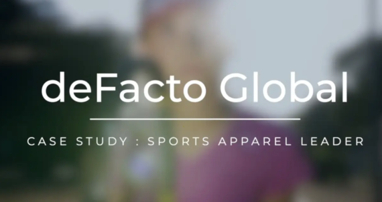 deFacto Global - deFacto Planning Sports Apparel Case Study Video Still Frame Opening Image