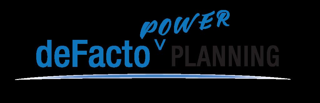 deFacto Global - deFacto Power Planning Logo