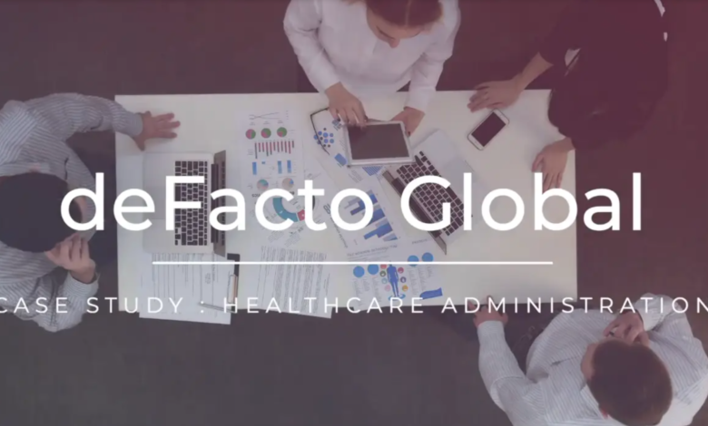 Photo of deFacto Global Case Study | Healthcare Administration