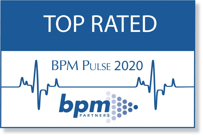 deFacto Planning 2020 BPM Partners Annual Survey Top Rated