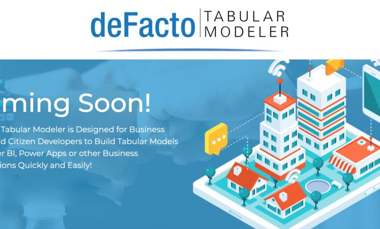 Photo of Announcing deFacto Tabular Modeler!